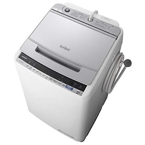 日立 BW-V90E シルバー ビートウォッシュ [全自動洗濯機(9.0kg)]