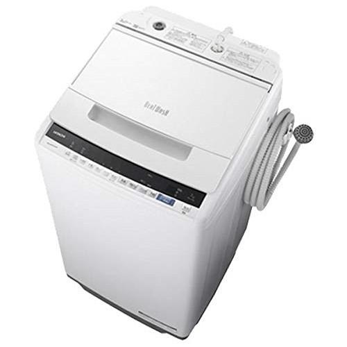日立 BW-V70E ホワイト ビートウォッシュ [全自動洗濯機(7.0kg)]