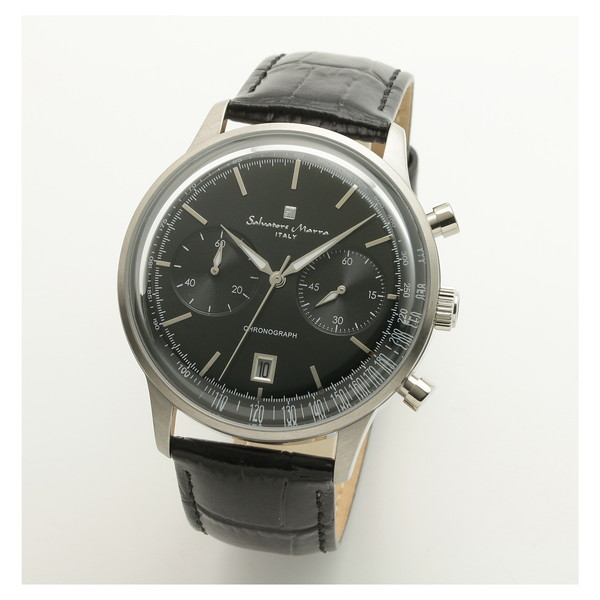 Salvatore Marra SM19106-SSBK [クオーツ腕時計(メンズ)]