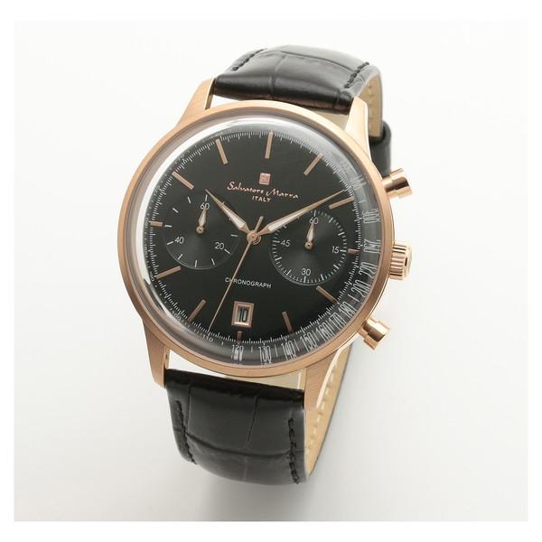 Salvatore Marra SM19106-PGBK [クオーツ腕時計(メンズ)]