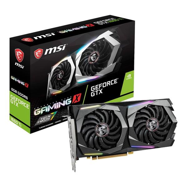 【送料無料】MSI X GeForce GTX 1660 Ti GeForce GAMING X 6G GAMING [グラフィックスカード], ジュエリー WADA:d022a42b --- sunward.msk.ru