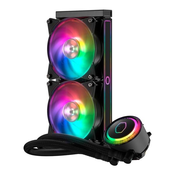 【送料無料 RGB】CoolerMaster MLX-S24M-A20PC-R1 MasterLiquid ML240RS MasterLiquid RGB [CPUクーラー], 小俣町:10e46363 --- sunward.msk.ru
