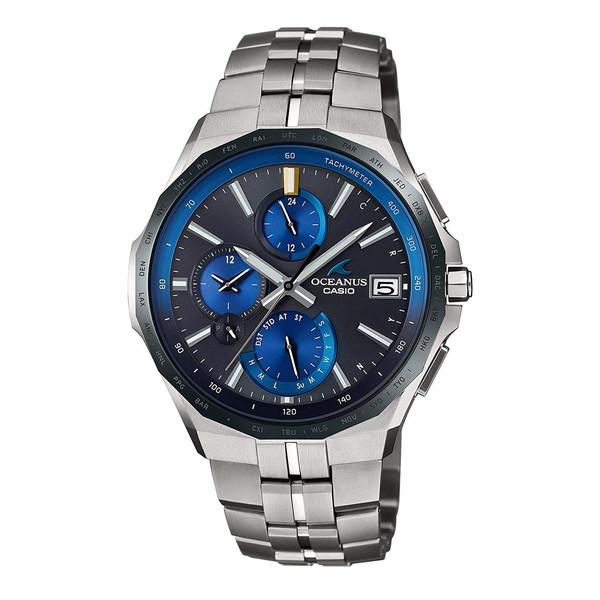 CASIO(カシオ) OCW-S5000E-1AJF オシアナス マンタ [電波ソーラー腕時計(メンズ)]