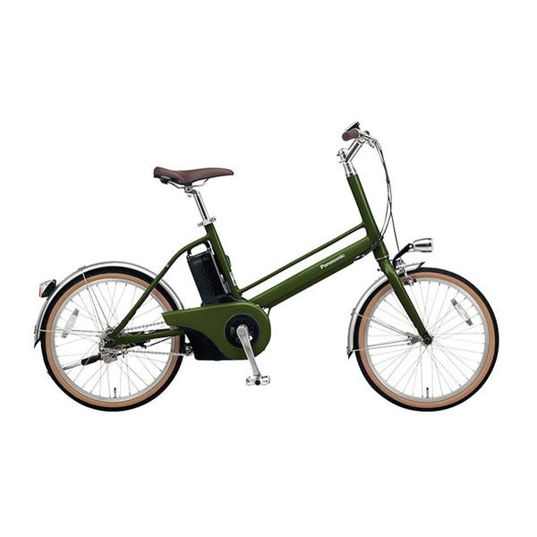 PANASONICBE-JELJ012GエバーグリーンJコンセプト[電動アシスト自転車(20インチ)]【同梱配送不可】【代引き?後払い決済不可】【本州以外配送不可】