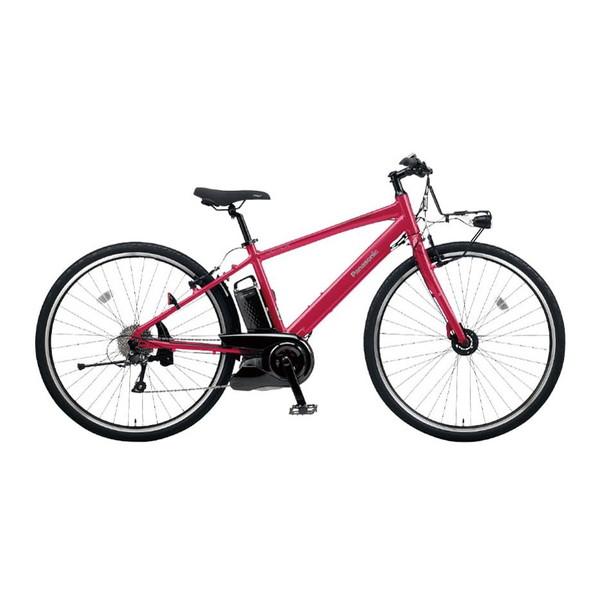 PANASONIC BE-ELHC249R カンパリレッド ジェッター [電動アシスト自転車(外装8段)] メーカー直送