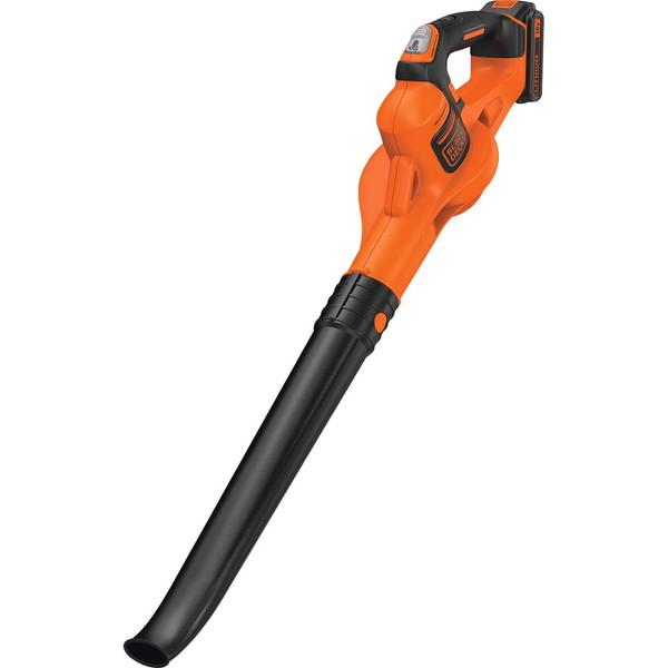 ブラック・アンド・デッカー(BLACK&DECKER) GWC1820PC [コードレスブロワー(18V 2.0Ah)] 園芸用品 ガーデニング 吹き飛ばし 落ち葉 清掃 掃除 充電式