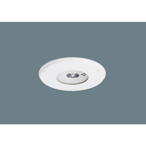 PANASONIC NNFB91815J [LEDダウンライト (昼白色 天井埋込型 (非常用) 一般型(30分間) リモコン自己点検機能付/埋込穴φ175 クリーンルーム向け/パネル付型)]
