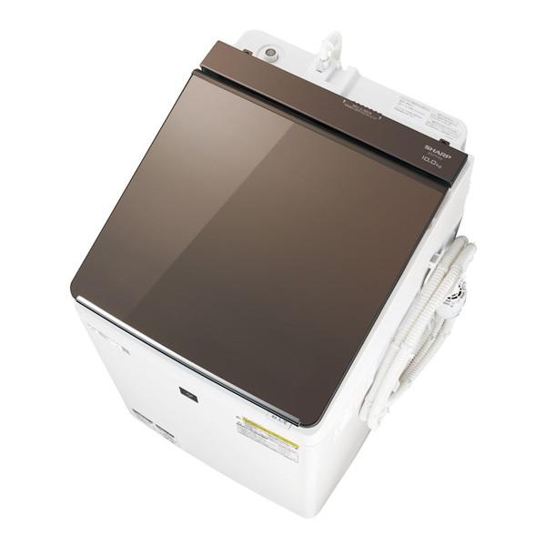 【送料無料】SHARP ES-PT10D ブラウン系 [洗濯乾燥機(10.0kg)]【代引き・後払い決済不可】