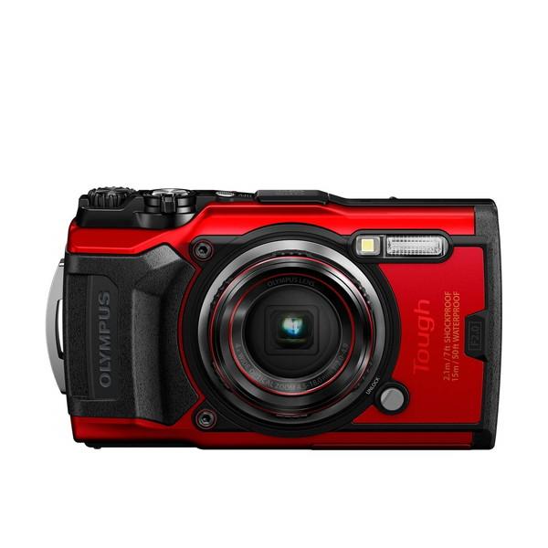 OLYMPUS TG-6 RED Tough レッド [コンパクトデジタルカメラ(1200万画素)]