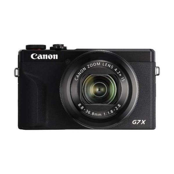 4K動画やライブ配信に対応した1型センサー搭載デジタルカメラ CANON PowerShot G7 X Mark III ☆国内最安値に挑戦☆ コンパクトデジタルカメラ BK 約2010万画素 送料無料お手入れ要らず ブラック