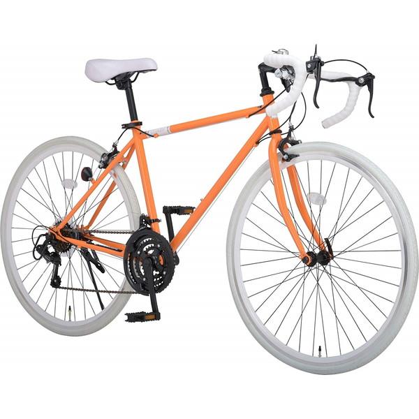 Grandir Sensitive オレンジ(46226) [ロードバイク(700×28C・21段変速・フレーム470mm)]【同梱配送不可】【代引き・後払い決済不可】【沖縄・北海道・離島配送不可】