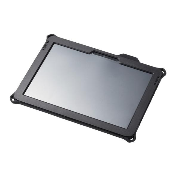 ELECOM TB-MSG18HVBK ブラック [Surface Go フルプロテクトケース/ZEROSHOCK/耐衝撃/ショルダーベルト付]