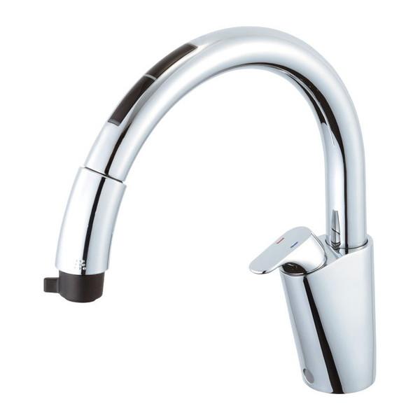 LIXIL SF-NB471SXU ナビッシュ [キッチン用タッチレス水栓 B7タイプ (エコセンサー付)]
