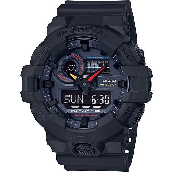 CASIO(カシオ) GA-700BMC-1AJF ブラック G-SHOCK Black×Neon [クォーツ腕時計 (メンズウォッチ)]
