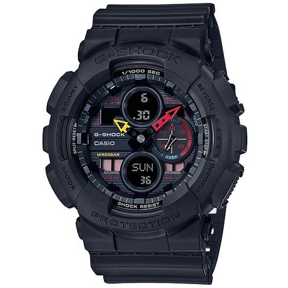 CASIO(カシオ) GA-140BMC-1AJF ブラック G-SHOCK Black×Neon [クォーツ腕時計 (メンズウォッチ)]