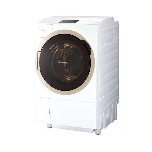 東芝 TW-127X7L(W) グランホワイト ZABOON [ドラム式洗濯乾燥機 (洗濯12.0kg/乾燥7.0kg) 左開き ヒートポンプ乾燥 ウルトラファインバブルW搭載 7型カラータッチパネル ] 【代引き・後払い決済不可】【離島配送不可】