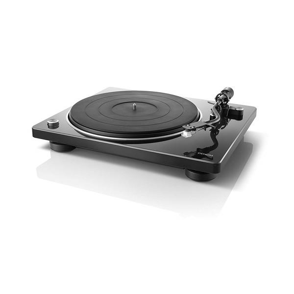DENON DP-400BKEM ブラック [マニュアルレコードプレーヤー]