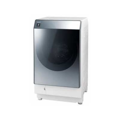 SHARP ES-W112-SR シルバー系 [ななめ型ドラム式洗濯乾燥機 (洗濯11.0kg/乾燥6.0kg) 右開き]【代引き不可】