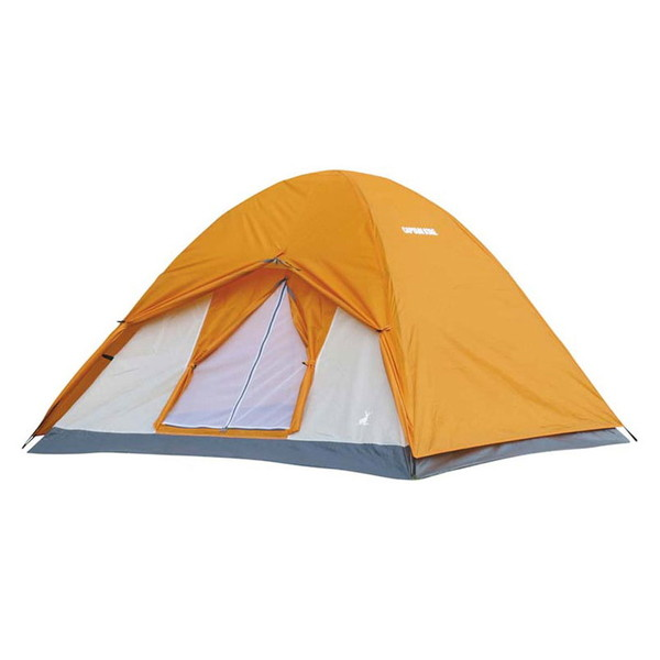 CAPTAIN STAG UA-0050 クレセント 3人用ドームテント(アンバー)