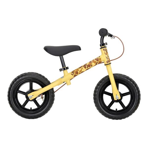 CAPTAIN STAG YG-1208 キャンプアウトトレーニングバイク(ベージュカモ) 18 足けり 足蹴り 足こぎ 乗り物 玩具