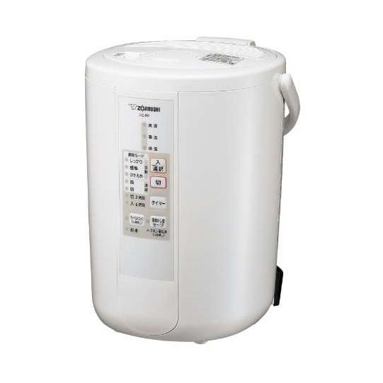 象印 加湿器 3L スチーム式 (木造8畳まで/プレハブ洋室13畳まで) 大容量 蒸気 フィルター不要 お手入れ 安心 簡単 チャイルドロック 煮沸式 除菌 おしゃれ ホワイト EE-RP50-WA EERP50WA