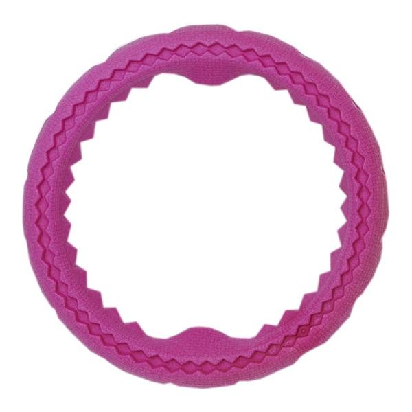 ひっぱり合ったり、噛んで遊んだり、楽しいリング型おもちゃ~。 ボンビアルコン フルーツリング S ピンク