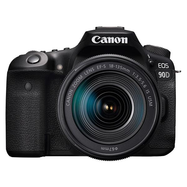 CANON EOS 90D EF-S18-135 IS USM レンズキット [デジタル一眼レフカメラ(約3250万画素)]
