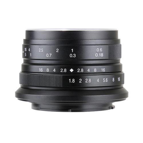 七工匠 7Artisans 25mm F1.8 ブラック マイクロフォーサーズ [交換レンズ]
