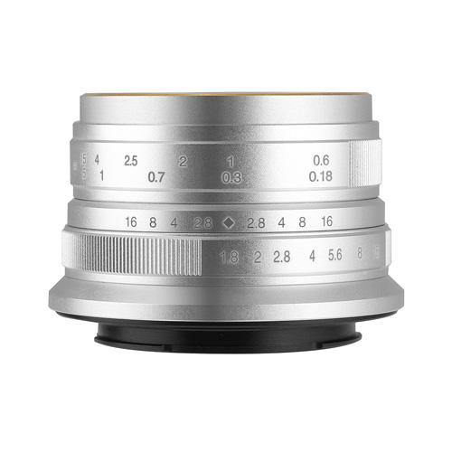 七工匠 7Artisans 25mm F1.8 シルバー マイクロフォーサーズ [交換レンズ]