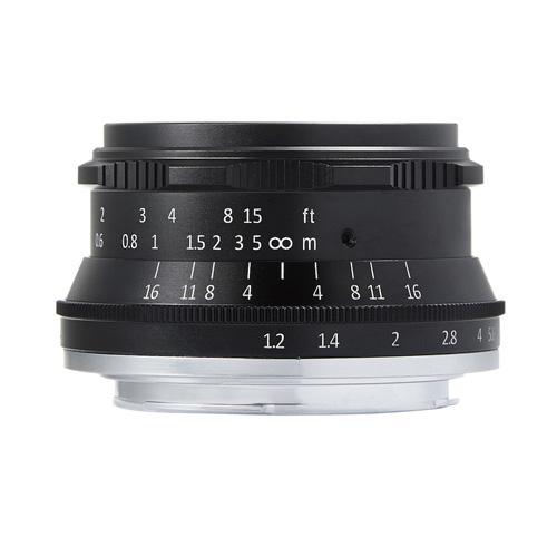 七工匠 7Artisans 35mm F1.2 ブラック キヤノンEF-M [交換レンズ]