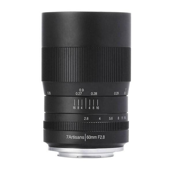 七工匠 7Artisans 60mm F2.8 Macro ブラック ソニーE (APS-C) [交換レンズ]