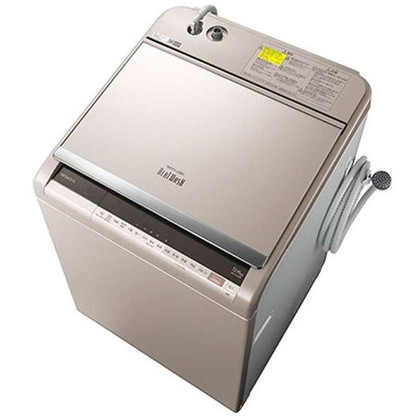 日立 BW-DV120E(N) シャンパン ビートウォッシュ [洗濯乾燥機 (洗濯12.0kg/乾燥6.0kg)]【代引き不可】