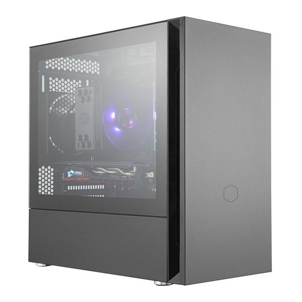 CoolerMaster MCS-S400-KG5N-S00 ブラック Silencio S400 TG [ミニタワー型PCケース]