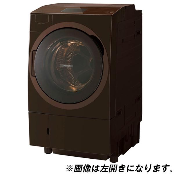 東芝 TW-127X8R(T) グレインブラウン ZABOON [ドラム式洗濯乾燥機 (洗濯12.0kg/乾燥7.0kg) 右開き]【代引き・後払い決済不可】