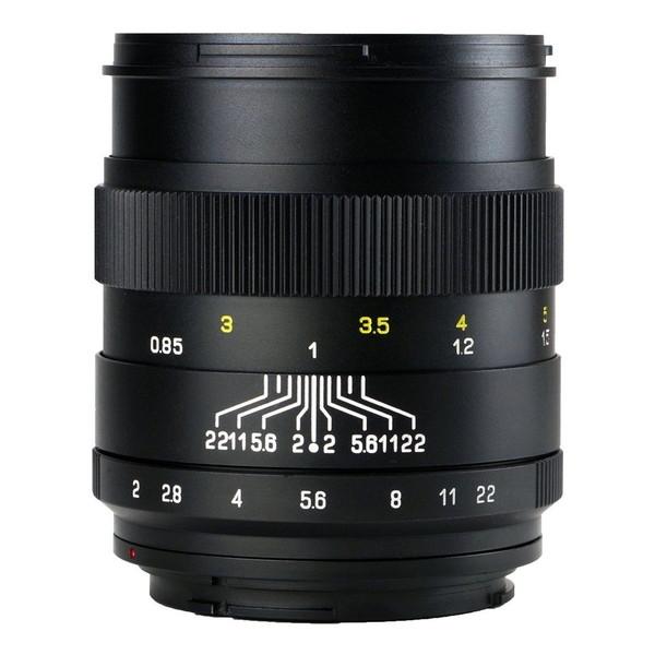 中一工学 CREATOR 2/85mm (SA) BK ブラック [単焦点レンズ(ソニーAマウント)]