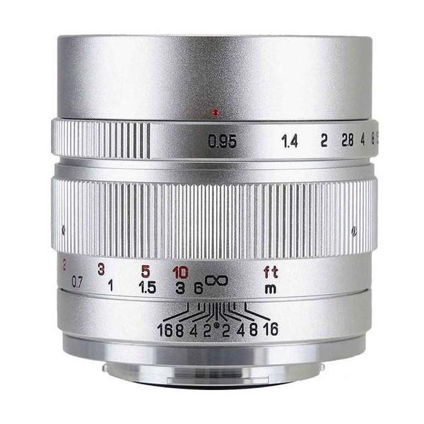 中一工学 SPEEDMASTER 0.95/35mm II (EM) SV シルバー [単焦点レンズ(キヤノンEF-Mマウント)]