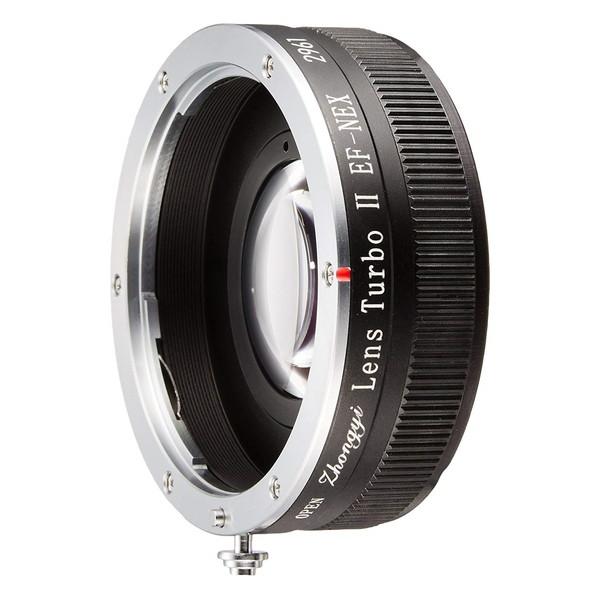 中一工学 Lens TurboII EF-NEX [フォーカルレデューサー マウントアダプター(キヤノンEFマウントレンズ → ソニーNEX/α.Eマウント)]