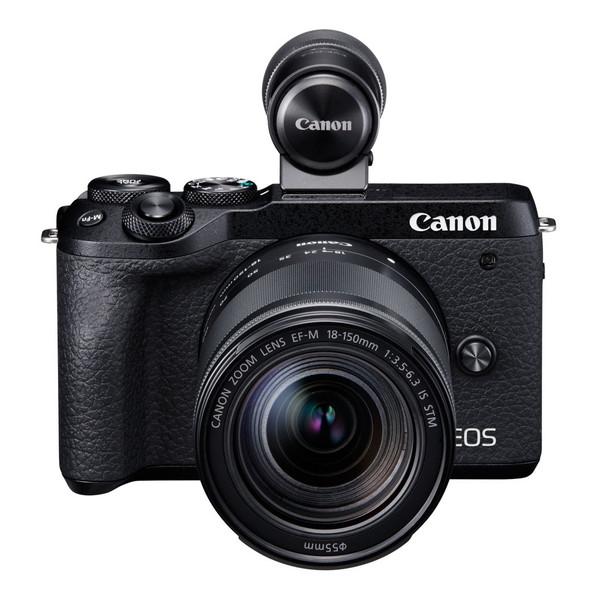 CANON EOS M6 Mark II ブラック EF-M18-150 IS STM レンズEVFキット [ミラーレス一眼カメラ(3250万画素)]