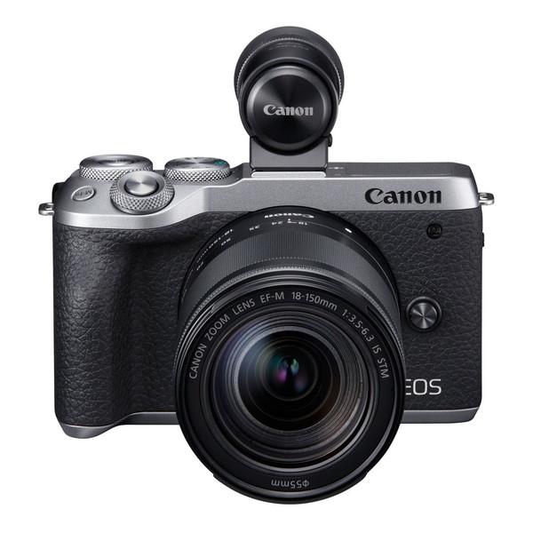 CANON EOS M6 Mark II シルバー EF-M18-150 IS STM レンズEVFキット [ミラーレス一眼カメラ(3250万画素)]