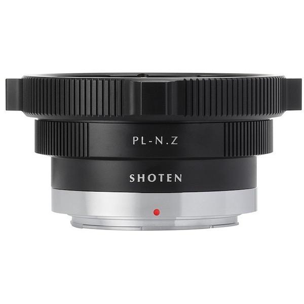 SHOTEN PL-NZ (PLマウントレンズ → ニコンZマウント変換) ブラック [マウントアダプター]