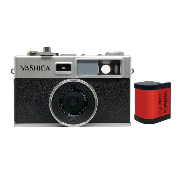 YASHICA YAS-DFCY35-P38 [デジフィルムカメラ(digiFilm200セット)]