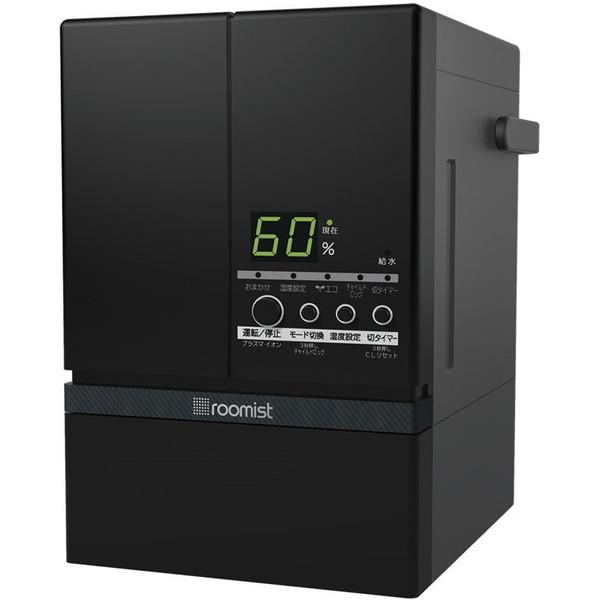 三菱重工 SHE60SD-K ブラック roomist [スチームファン蒸発式加湿器(木造10畳まで/プレハブ洋室17畳まで)]