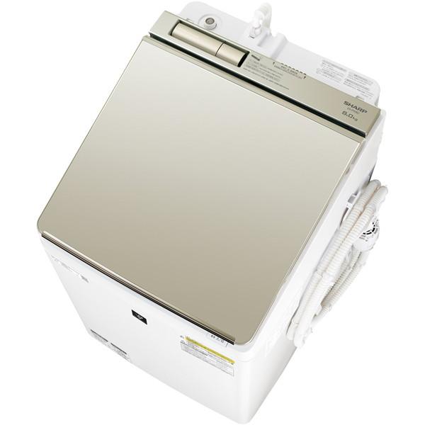 SHARP ES-PW8D ゴールド系 [洗濯乾燥機(洗濯8.0kg/乾燥4.5kg)]【代引き・後払い決済不可】