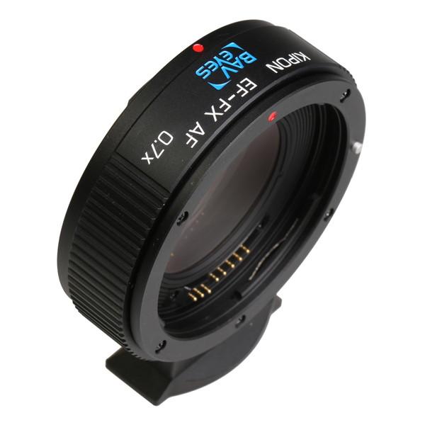 KIPON Baveyes EF-FX AF 0.7x [マウントアダプター(レンズ側:キヤノンEF/ボディ側:フジX)]