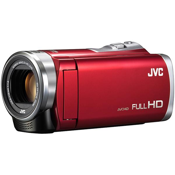 JVC GZ-E109-R レッド Everio [フルハイビジョンビデオカメラ(8GB)]