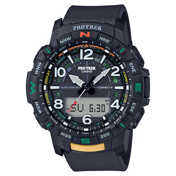 CASIO(カシオ) PRT-B50-1JF ブラック プロトレック Climber Line [クォーツ腕時計(メンズウォッチ) スマートフォンリンク機能搭載]