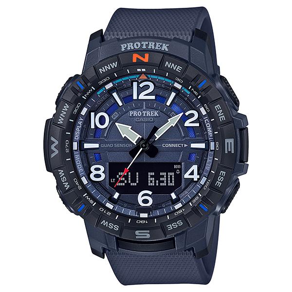 CASIO(カシオ) PRT-B50-2JF ブルー プロトレック Climber Line [クォーツ腕時計(メンズウォッチ) スマートフォンリンク機能搭載]