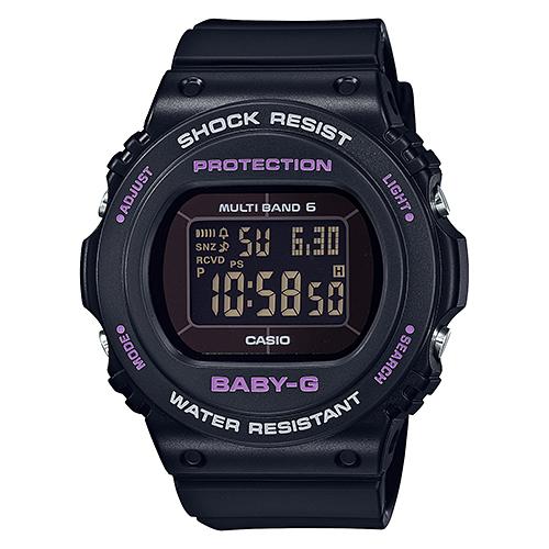CASIO(カシオ) BGD-5700-1JF ブラック BABY-G [電波ソーラー腕時計(レディースウォッチ)]