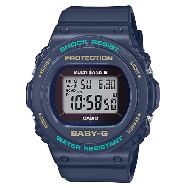 CASIO(カシオ) BGD-5700-2JF ブルー BABY-G [電波ソーラー腕時計(レディースウォッチ)]