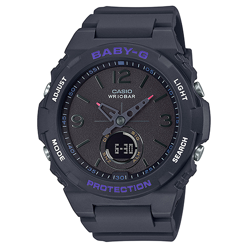 CASIO(カシオ) BGA-260-1AJF ブラック Baby-G [クォーツ腕時計(レディースウォッチ)]
